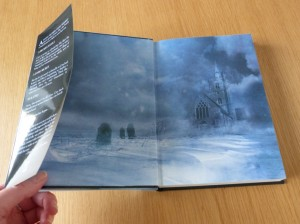 A Cold Season hardback endpapers